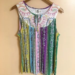 New Anthropologie One September Top size L